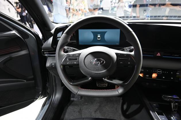 第七代伊兰特亮相北京车展 预售10.98万-14.58万元