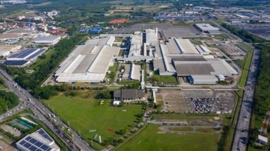 泰国罗勇工厂俯瞰图