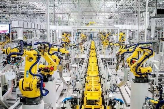 长城汽车永川工厂智慧设生产线